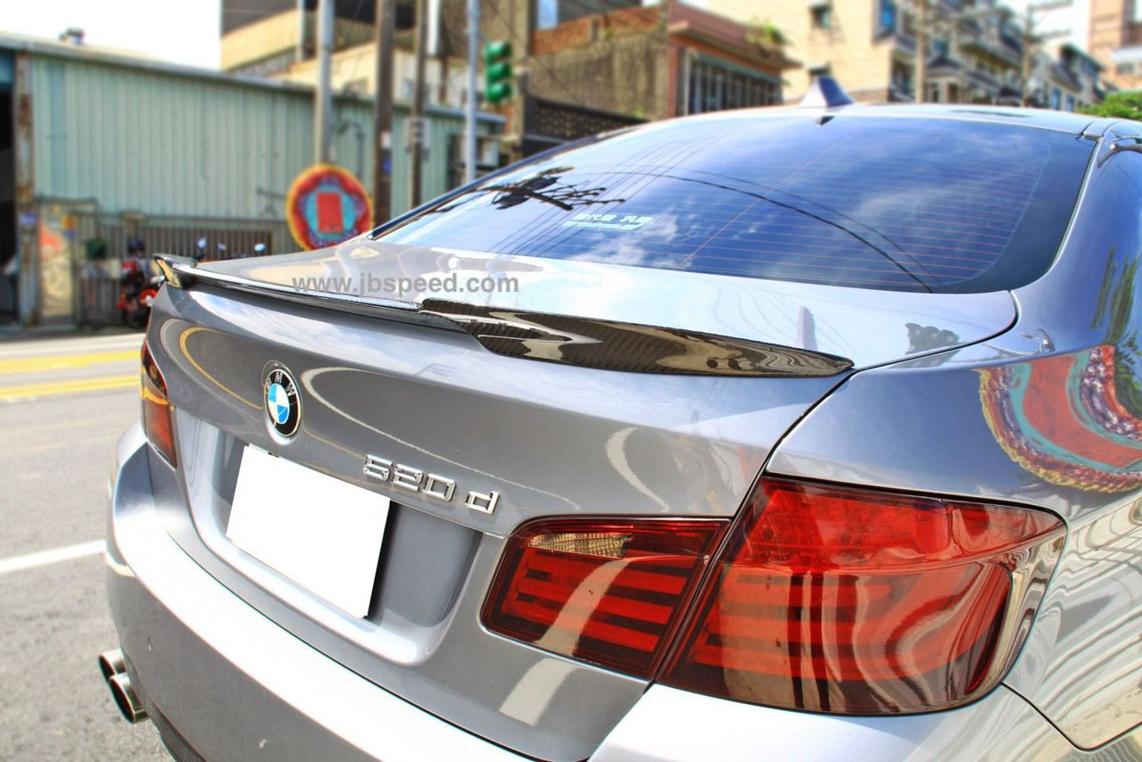 Bmw M4 Style Carbon Fiber Spoiler F10 F10 M5 Free Shipping