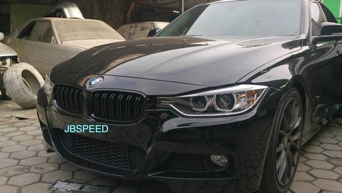 Bmw Dual Slat Gloss Black Grills Replacement For F30 Free Shipping