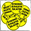 Add a sticker on to your order and save a few bucks, plus be guaranteed that you can take your favorite Strong Athletic design with you everywhere! This Strong Athletic Skater sticker will remind you of how epic you are! #strongathletic , #strongathleticskater , #rampskater , #bowlskater