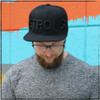This is the Black on Black Strong Hat by Strong Athletic. The Black letters seep into the Matt Black fabric making it so that the hat is not only functional but also a piece of art. You can boldly feel Strong yet want to be subtle in your communication to others. Wear this hat so that you can remind yourself of how strong you are every time you put it on and look in a mirror. Wear this hat to remind others that they are strong too. They will see it in you and eventually see it in themselves.  #strongwoman , #strongathletic , #snapback , #snapbackhat , #blacksnapback , #embroidered