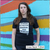 This is the front of our Strong Athletic Grown-Ass Woman T-shirt. This t-shirt should serve as your reminder that you don't need anyone's permission to do anything, because you're an adult.  This shirt is printed on Bella Canvas 3001CVC.  Click on Size Chart info to see more details about the shirt fit. #strongathletic , #strongathleticgrownasswoman , #grownasswoman , #womeninsport , #strongwoman , #strongwomen