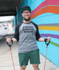 """This is the Strong Athletic Coach Baseball T-Shirt by Strong Athletic. Behind every badass athlete is a coach who supports them. Get this shirt for your favorite coach if you need a """"thank you"""" gift at the end of the season to tell them they're awesome!"""