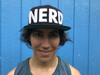 Nerd Hat Black with White Letters