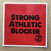 Roller Derby is filled with blockers, all of whom are Strong and Athletic. This simple sticker pays tribute to all of the Strong Athletic Blockers in the world of derby and all of those athletes who have aspirations to take the beautiful sport of roller derby further and further.