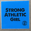 Is important to be a Strong Athletic Girl? In a world where females in sports are undermined and underrepresented and not expected to play sports past the age of 22, it is important. Not every child identifies as a girl, but for those who do, this sticker is for them to tell the world that they are strong and athletic. We choose the colors of blue and black in protest to the usual pinks and pastels that seem to be assigned to little girls.