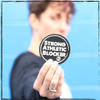 This is the Strong Athletic Blocker sticker. This is one of the 4 stickers you will receive in your 4-Pack. Roller Derby is filled with blockers, all of whom are Strong and Athletic. This simple sticker pays tribute to all of the Strong Athletic Blockers in the world of derby and all of those athletes who have aspirations to take the beautiful sport of roller derby further and further. #strongathleticblocker , #rollerderby , #strongathletic , #strongathleticskater