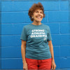 This is our newest Strong Athletic Grandma T-Shirt by Strong Athletic. This T-shirt is heather aqua with white ink printed on Bella Canvas, super soft t-shirt. We think of Grandmothers as super strong humans, who have raised their children and now get to enjoy having grandkids. We think that society wants there to be this funny archaic idea of grandmothers, that they are not so strong, that they are old and feeble, and we know that is not the case. Here's to all the Strong Athletic Grandmas in the world! #Strongathleticgrandma , #strongathleticgrandmother , #strongathleticmom , #grandma #stronggrandma, #stronglikegrandma , #strongathleticwoman , #ilovemygrandma , #strongathletic , #womanownedocompany , #womeninsports