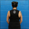 This is the Loud. Charismatic. Announcer. Festival Muscle Tank by Strong Athletic that we made for members of the roller derby community. This black muscle tank is designed by Next Level and is super comfortable. Strong Athletic carries multiple muscle tanks, so be sure to take a look at the size chart to make sure you get the correct size.