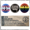 """This is the Strong Athletic LGBTQIA Sticker Pack. It includes our Strong Athletic Queer Sticker, our Trans Pride Sticker, our Pride Sticker and our """"We Believe"""" Sticker. When you purchase this sticker pack, you get all 4 stickers. If you order multiple sticker packs, you get multiple set of 4. #strongathletic , #strongathleticqueer , #strongathletictrans , #webelieve , #gayathletes , #queerathlete , #gayathlete , #queerathletes , #pride , #lgbtqia2s+ #lgbtqia , #lgbtq"""