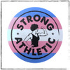 This is one of the stickers you will get in your 4-pack. This is our Trans Pride Sticker, with a combination of the original Strong Athletic Strong Woman Logo and the colors of the Trans flag originally created by Monica Helms. This sticker is 3 x 3 inches. #strongathletic , #strongathleticqueer , #strongathletictrans , #webelieve , #gayathletes , #queerathlete , #gayathlete , #queerathletes , #pride , #lgbtqia2s+ #lgbtqia , #lgbtq   This is one of the three stickers you will get.