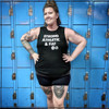 This is Wendy, the Maine Roller Derby skater who contacted Strong Athletic in 2018 and asked us if we'd consider making her this tank. We get a lot of requests for tanks, but this one really hit home for us as one that was so important because of the message behind it. Strong Athletic knows that an athlete's body size has nothing to do with their athleticism or strength. We know that there are too many humans in the world having to educate the population about the damaging impact of body shaming and we stand with humans like Wendy in their quest to do that work. Read more about why Wendy requested this tank in her blog post in our blog section. We were super stoked to collaborate with one of our favorite t-shirt company Chub Club on the release of this tank. #strongathletic , #strongathleticandfat , #strongathleticfat , #fatathlete
