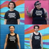 Strong Athletic created the Strong Athletic Queer shirts, hats and fanny packs because we wanted to make sure that people like our founder Nadia Kean, could have a method in which they could voice who they are. People who are part of the LGBTQIA2S+ community have been playing sports, and have been involved in athletics as long as sports and athletics has existed, yet we've been asked to stay quiet and hide who we really are. Everyone has a specific reason for why they wear the Strong Athletic Queer design and also for why they give it to the people that they love and admire as a  gift. We have so many reasons for why we first create this design and also for why we continue to create this design. Do you have a reason that is important and unique to your story? We'd love to hear it, please write to us to share. And thank you, for choosing to wear these three words across your chest. It's important that others read them as well.