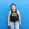 This is the front of the Strong Athletic Woman Crop Top Racerback with Black White Ink. We print this design on the ever popular Bella Canvas 6682. This tank has become a favorite with folks giving gifts to strong women in their lives. It's a simple way to make a bold statement, at the gym, while lifting or just while going out during the day. #strongathletic , #strongathleticwoman , #strongathleticwomen , #womenwholift , #womeninsports , #strongwoman , #juststrong , #strong , #womeninsports #womeninathletics , #feministinsports