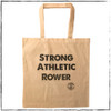 This is the Strong Athletic Rower Tote Bag that we created for the rowers in the world that have a stroke coach, a water bottle, a seat pad, a few layers, maybe some pogies, perhaps a personal flotation device, and whatever else rowers need to take with them down to the dock and on the water. Plus, did you know, Strong Athletic is owned by a rowing coach, so you're supporting a rowing coach when you buy this product.