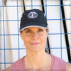 This is the Strong Athletic Super Light Weight Runner's Hat with our logo embroidered on the front. We love this hat because of how our logo is bold in the center of the hat.