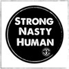 This is the Strong Nasty Human sticker that Strong Athletic created for the 2020 Presidential Election. We made these stickers as a small batch order and they are now sold out.