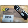 """When you receive your Strong Athletic Texan Crew Neck T-shirt in the mail, we want you to feel like you're getting a gift. It's because of this we created packaging that is unique and thoughtful. Each Strong Athletic shirt comes wrapped in a slip of paper with the words """"You are so Strong"""" printed in bold black ink, held together with a Strong Athletic sticker. You'll always receive a few Strong Athletic stickers in each package, as well as our """"We Believe"""" sticker. All of our packaging is biodegradable and 100% recyclable."""