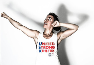 The United Strong Athletes muscle tank shows my pride in being part of a team of amazing athletes!