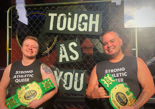 Cameron Star's story about winning the Oregon State Tag Team Champions