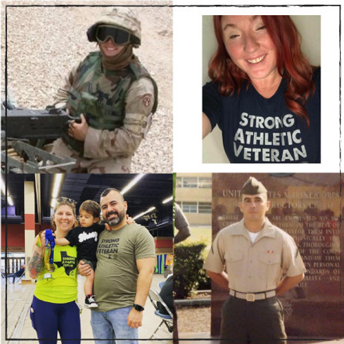 The Strong Athletic Veteran shirt and the People who Wear it