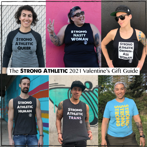 What should you Buy for an Athlete on Valentine's Day?  The Strong Athletic Valentine's Gift Guide