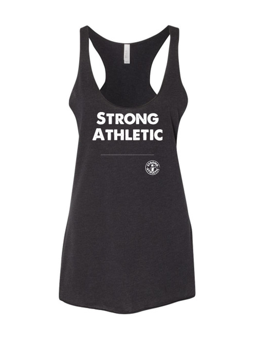 "What words do you want to wear across your chest? Strong Athletic knows that different things are important to different people and that is why we've created the ""Design Your Own"" Option just in case you have a great idea and you want it across your chest."