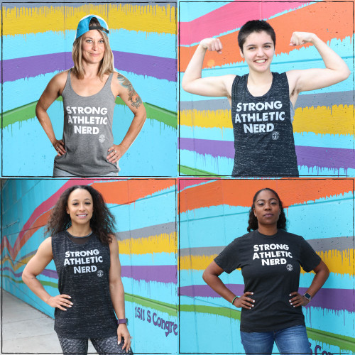 Are you looking for the perfect gift for the nerd in your life? Or are you a nerd who wants to tell the world that you're Strong and Athletic? These are the shirts by Strong Athletic for all the nerds in the world who are Nerdy, Strong and Athletic. What's the use of telling the world that you are all of those things? Many people associate being a nerd with not being athletic, but at Strong Athletic we know that many nerds are also athletes. So many sports are based on strategy and logistics.