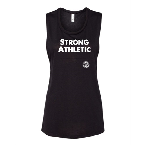 Have you ever wanted to design your own Strong Athletic Muscle Tank. What words do you want to wear across your chest? Words are powerful and when well chosen, they can relay important messages. At Strong Athletic we know that many people in our community have phrases and words that are special to them, that we haven't thought of. That is why we created the Design Your Own Strong Athletic Option. This muscle tank is a favorite among many!