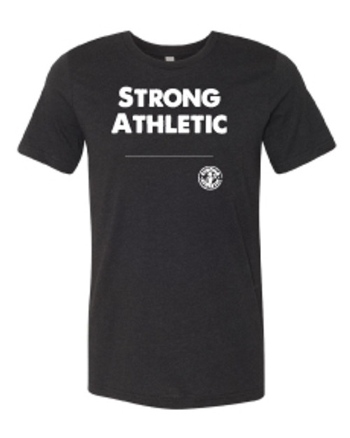 """You're unique, and your favorite Strong Athletic shirt can be too! Being able to hand-pick words that you feel represent you is a human right. Strong Athletic takes making a statement seriously and that is why we created the """"Design Your Own Strong Athletic Shirt"""" Option, so that you can do just that. This Bella and Canvas 3001CVC T-shirt has a neutral design, depending on the size you get it can be form fitting or it can be loose."""