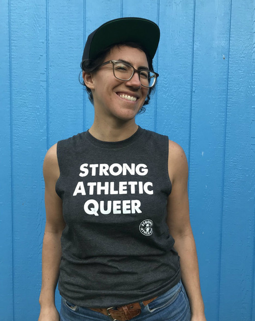 Strong Athletic Queer Muscle Tank