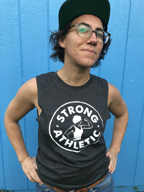 Strong Athletic Logo Muscle Tank