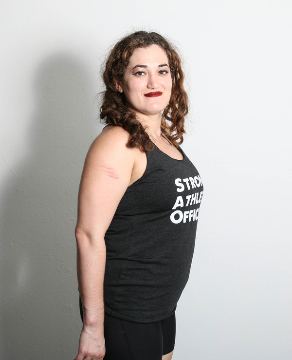 Strong Athletic Official Racerback Tank