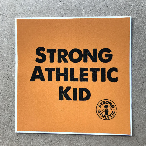 The Strong Athletic Kid sticker is for all kids who do not identify as girls. There are many rad kids in the world who either identify as boys or who are non-binary or who are figuring it out. Strong Athletic supports these kids and wants them to know that we think it's 100% up to them how they identify. #strongathletic #nonbinary
