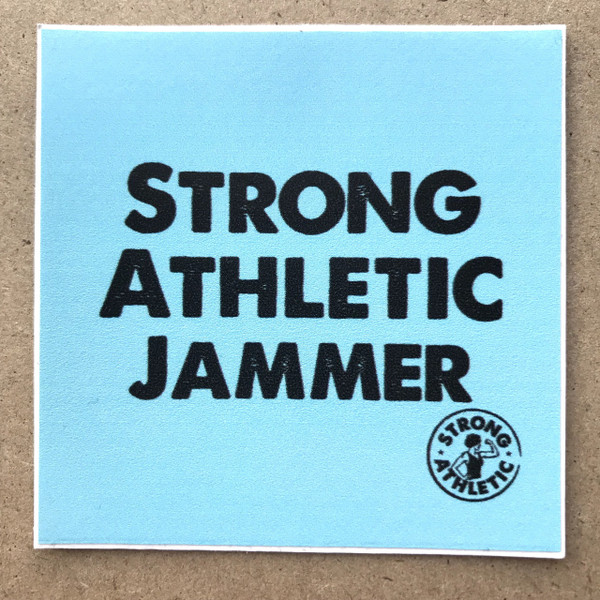 The Strong Athletic Jammer sticker is for all the jammers in the sport of roller derby. Jamming is a hard job. Jammers might get the spot light, but they have to work for it. When it comes down to it, there are 4 blockers against 1 person. The odds are against them, but still they prevail. Jammers must be strong and athletic and determined to hold their own on the track. Strong Athletic knows that and we salute every jammer who ever puts on the star and goes and gets the job done. #strongathleticjammer