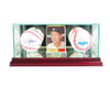 Card and Double Baseball Display Case