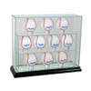 10 Upright Baseball Display Case