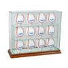 12 Upright Baseball Display Case
