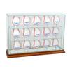 15 Upright Baseball Display Case