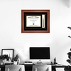 Diploma Frame with Tassel on Wall