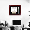 Personalized Diploma Frame with Tassel on Wall