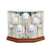 Five Baseball Display Case
