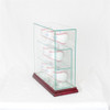 8 Upright Baseball Display Case