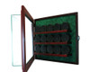 15 Hockey Puck Cabinet Style Display Case 4