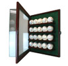 20 Baseball Cabinet Style Display Case 3