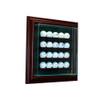 20 Golf Ball Cabinet Display Case