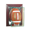 Wall Mounted Upright Football Display Case