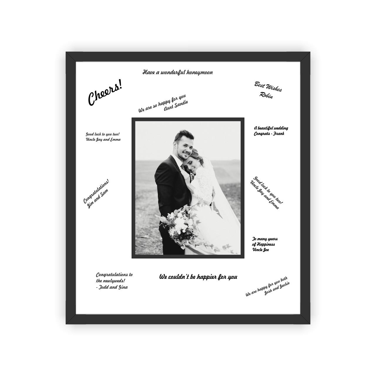 Wedding Photo Frames.Wedding Signature Frame