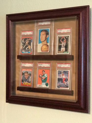 Graded Card Cabinet Cases