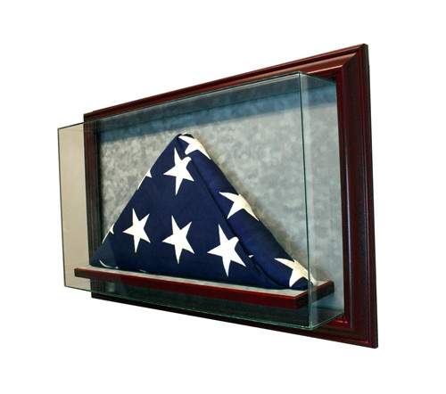 Cabinet Flag Display Case 5 X 3 Perfect Cases Inc