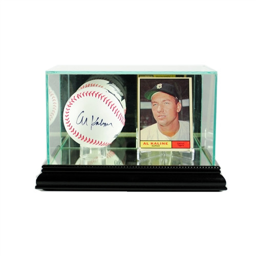 Card and Baseball Display Case